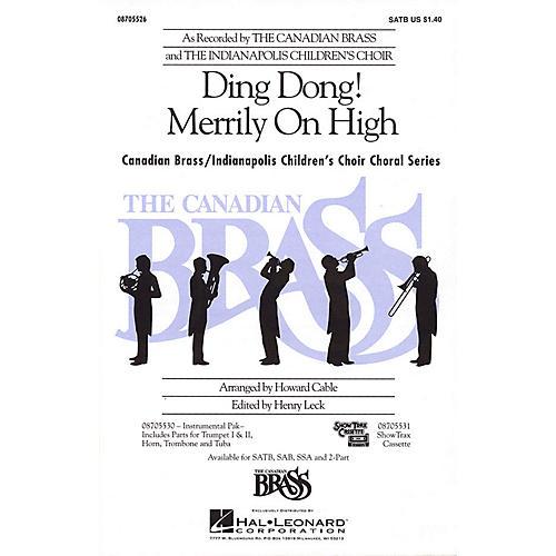 Hal Leonard Ding Dong! Merrily on High SSA