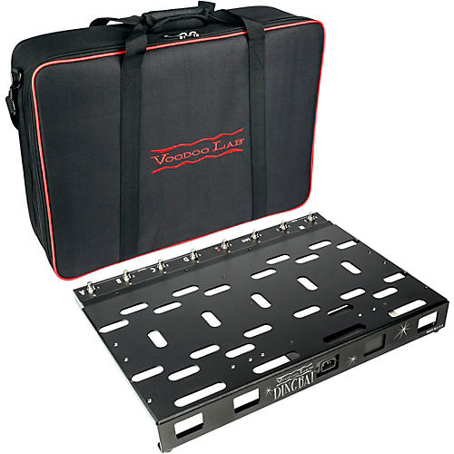 Voodoo Lab Dingbat PX Pedalboard Power Package with 8-Loop Pedal Switcher and Pedal Power 3 PLUS