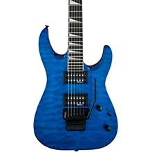 Dinky JS32Q DKA Arch Top Electric Guitar Transparent Blue