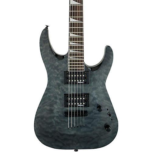 Jackson Dinky JaS32TQ DKA Arch Top Electric Guitar Transparent Black