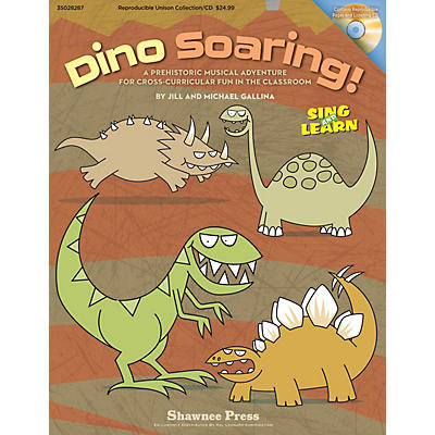 Shawnee Press Dino Soaring! REPRO COLLECT UNIS BOOK/CD Composed by Jill Gallina