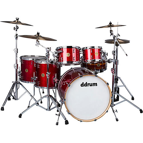 ddrum Dios 5-Piece Shell Pack Cherry Red Sparkle