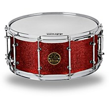 Dios Maple Snare 14 x 6.5 in. Red Cherry Sparkle