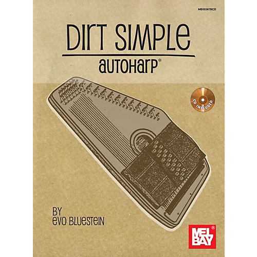 Mel Bay Dirt Simple Autoharp (Book/CD)