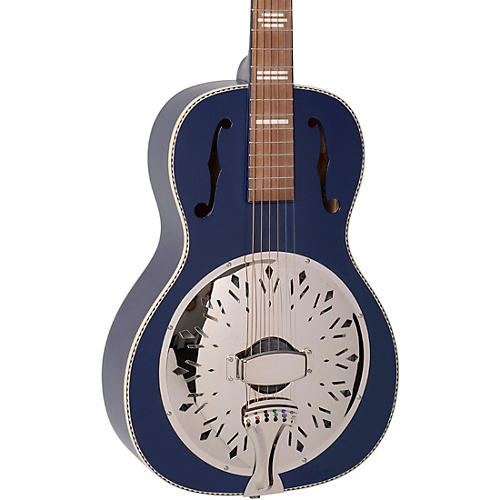 Recording King Dirty 30s Resonator Guitar Blue