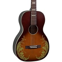 Open BoxRecording King Dirty '30s Series 7 Single 0 Limited Edition Lily of the Valley Acoustic Guitar
