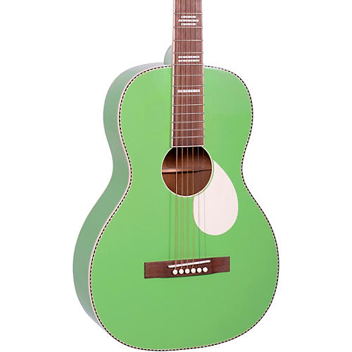Recording King Dirty 30's Series 7 Single 0 RPS-7 Acoustic Guitar Revolution Green