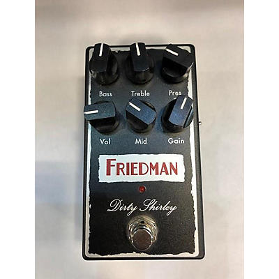 Friedman Dirty Shirley Overdrive Effect Pedal