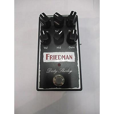 Friedman Dirty Shirley Overdrive Effect Pedal