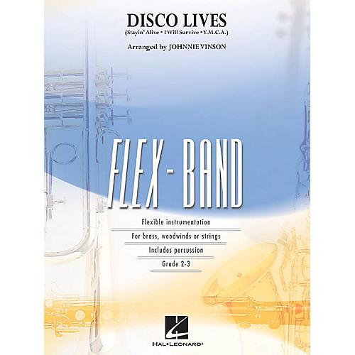 Hal Leonard Disco Lives! Concert Band Level 2-3 Arranged by Johnnie Vinson