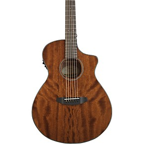 breedlove discover concert with sapele top acoustic electric guitar gloss natural musician 39 s. Black Bedroom Furniture Sets. Home Design Ideas