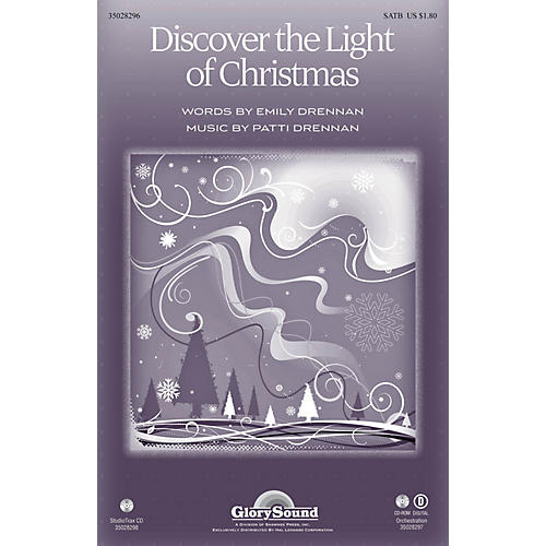 Shawnee Press Discover the Light of Christmas Studiotrax CD Composed by Patti Drennan