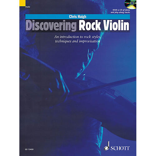 Schott Discovering Rock Violin Schott Series Softcover with CD