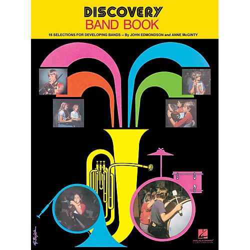 Hal Leonard Discovery Band Book #1 (Baritone Saxophone) Concert Band Composed by Anne McGinty