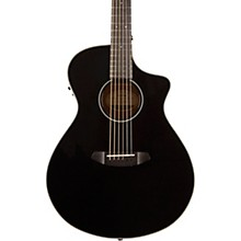 Open BoxBreedlove Discovery Concert Black CE Sitka Spruce-Mahogany  Acoustic-Electric Guitar