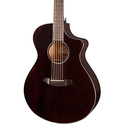 Breedlove Discovery Concert CE Black Widow Acoustic-Electric Guitar
