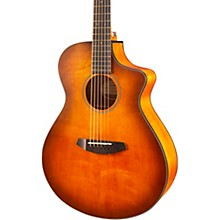 Open BoxBreedlove Discovery Concert CE Sitka Spruce-Mahogany Satin Bourbon Acoustic-Electric Guitar