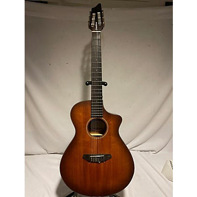 Breedlove Discovery Concert Ce Nylon Classical Acoustic Electric Guitar