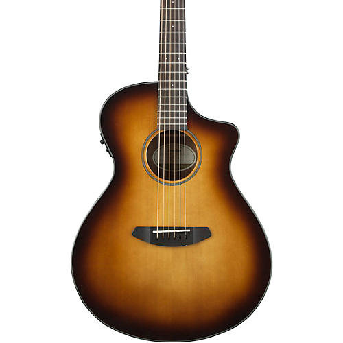 Breedlove Discovery Concert with Sitka Spruce Top Sunburst Acoustic-Electric Guitar
