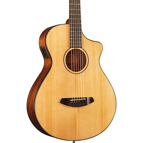 Breedlove Discovery Concertina Cutaway CE Acoustic-Electric Guitar Natural