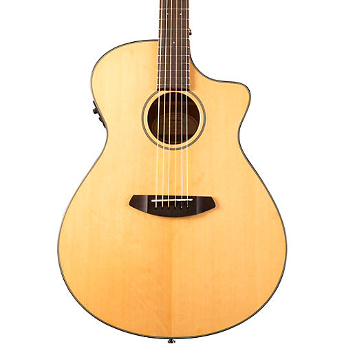 Breedlove Discovery Concerto Cutaway CE Sitka Spruce-Mahogany Acoustic-Electric Guitar Natural