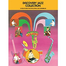 Hal Leonard Discovery Jazz Collection - Alto Sax 2 Jazz Band Level 1-2 Composed by Various