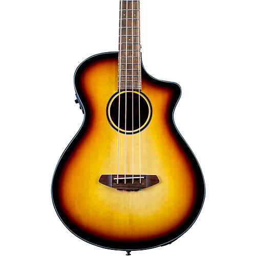 Breedlove Discovery S CE Concerto Acoustic-Electric Bass Edge Burst