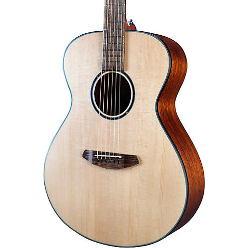 Breedlove Discovery S Sitka-African Mahogany Concert Acoustic Guitar Natural