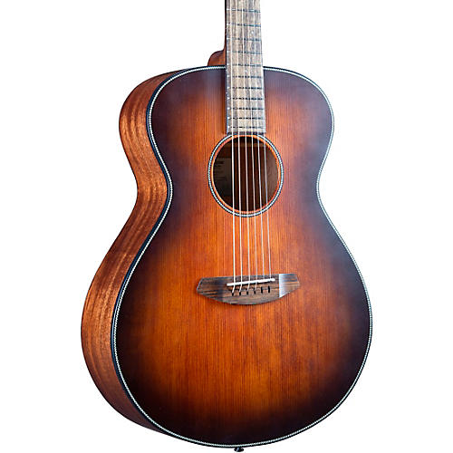 Breedlove Discovery S Sitka-African Mahogany HB Concert Acoustic Guitar Bourbon