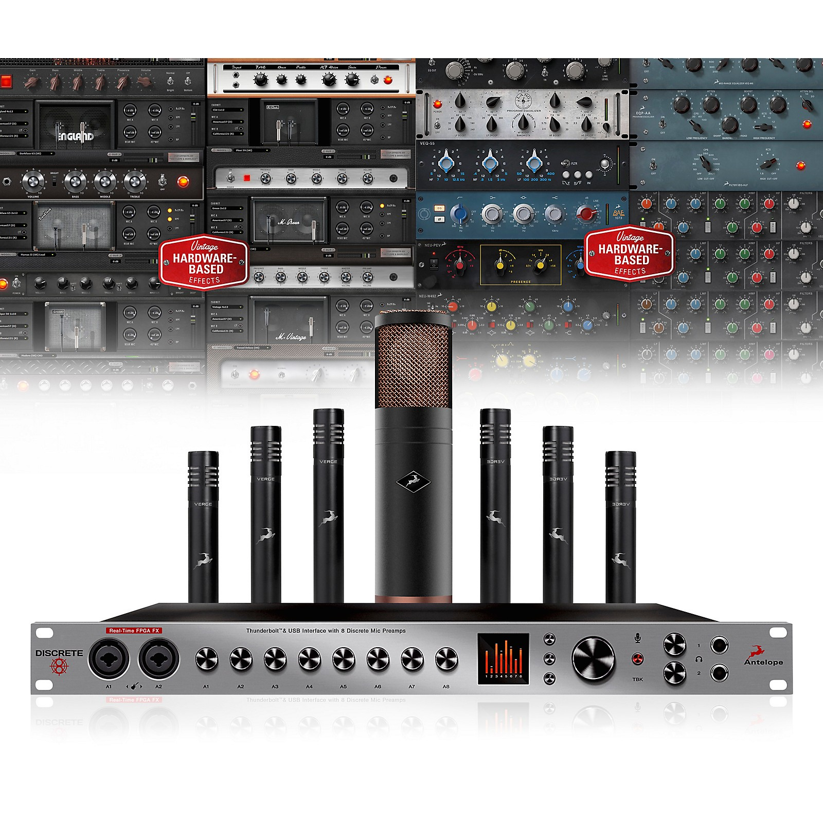 Antelope Audio Discrete 8, Edge & Verge Bundle