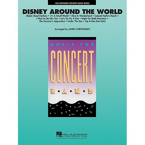Hal Leonard Disney Around the World Concert Band Level 4 Arranged by James Christensen