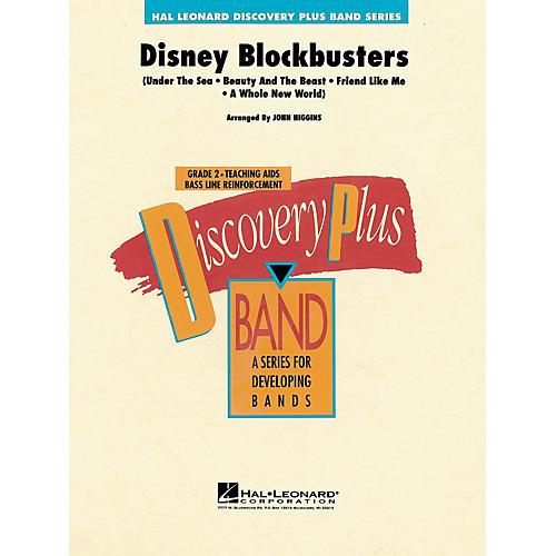 Hal Leonard Disney Blockbusters - Discovery Plus Concert Band Series Level 2 arranged by John Higgins