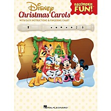 Hal Leonard Disney Christmas Carols Recorder Series Softcover
