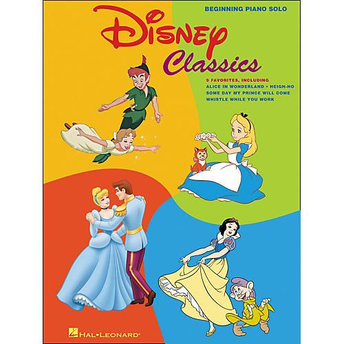 Hal Leonard Disney Classics Beginning Piano Solos