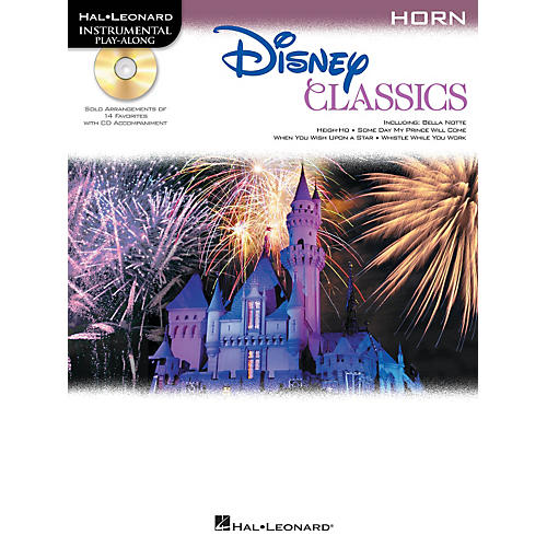 Hal Leonard Disney Classics Instrumental Play Along (Book/CD)