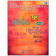 Hal Leonard Disney Contemporary Songs for High Voice Book/Online Audio