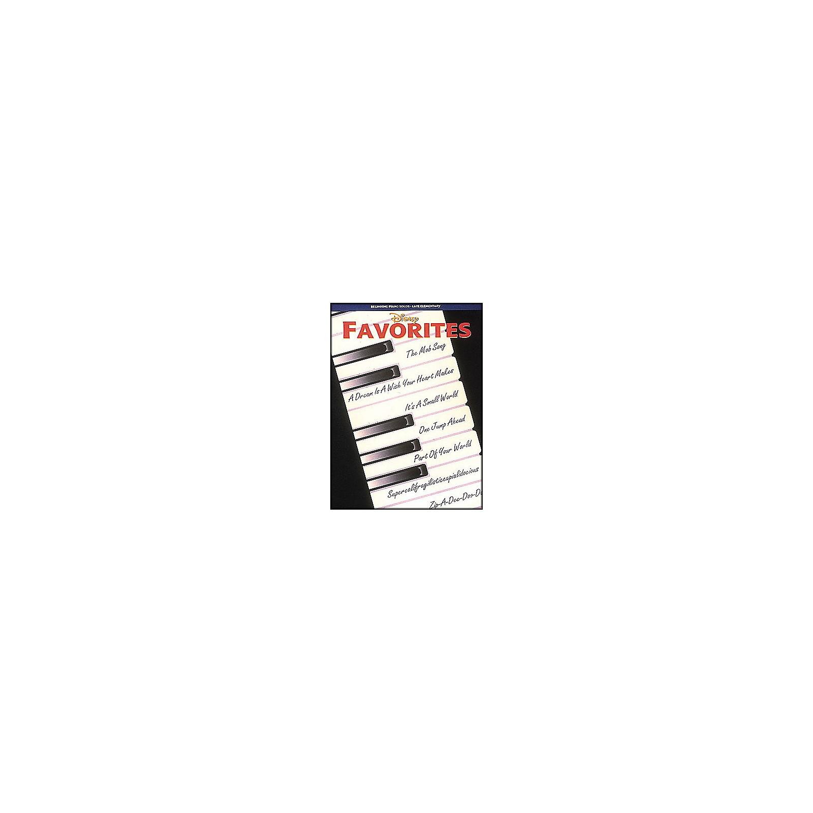 Hal Leonard Disney Favorites Beginning Piano Solos Late Elementary