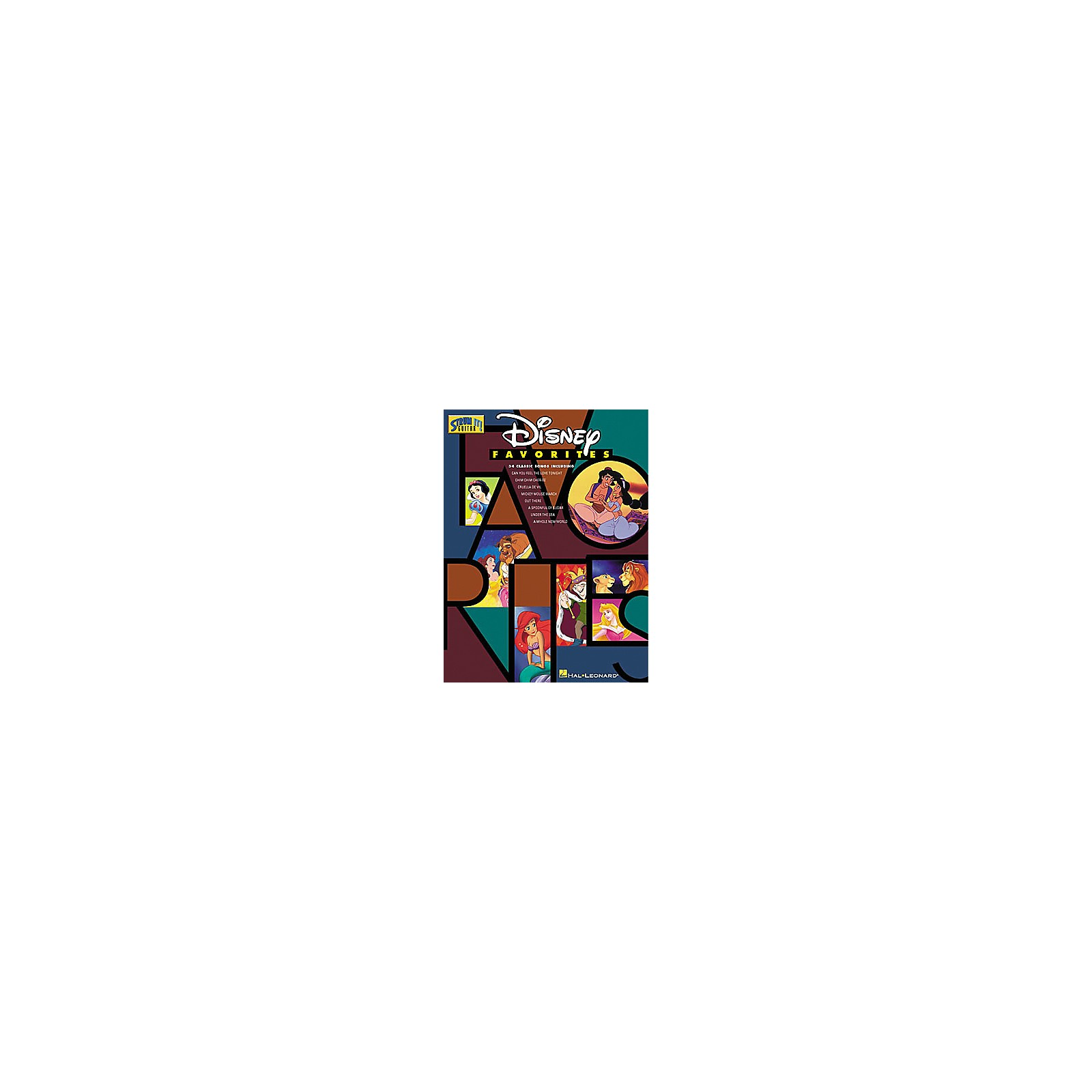 Hal Leonard Disney Favorites P VG Book