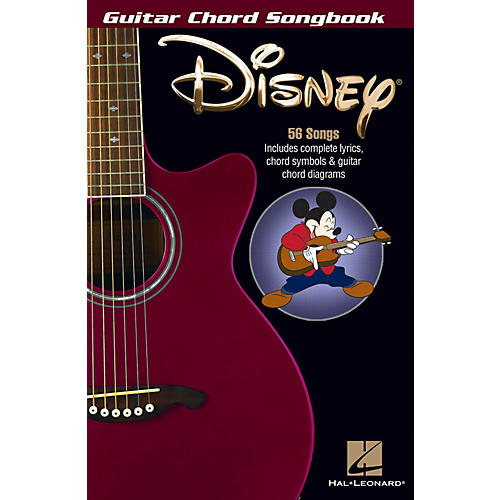 Hal Leonard Disney Guitar Chord Songbook Series Softcover