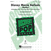 Hal Leonard Disney Movie Ballads (Medley) Discovery Level 2 3-Part Mixed arranged by Mac Huff