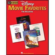 Hal Leonard Disney Movie Favorites Let's Play Recorder!