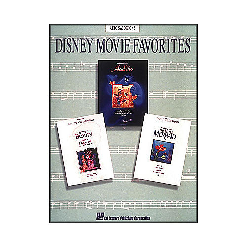 Hal Leonard Disney Movie Favorites for Alto Saxophone