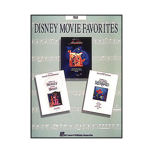 Hal Leonard Disney Movie Favorites for Cello