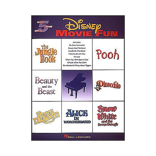 Hal Leonard Disney Movie Fun for Five Finger Piano