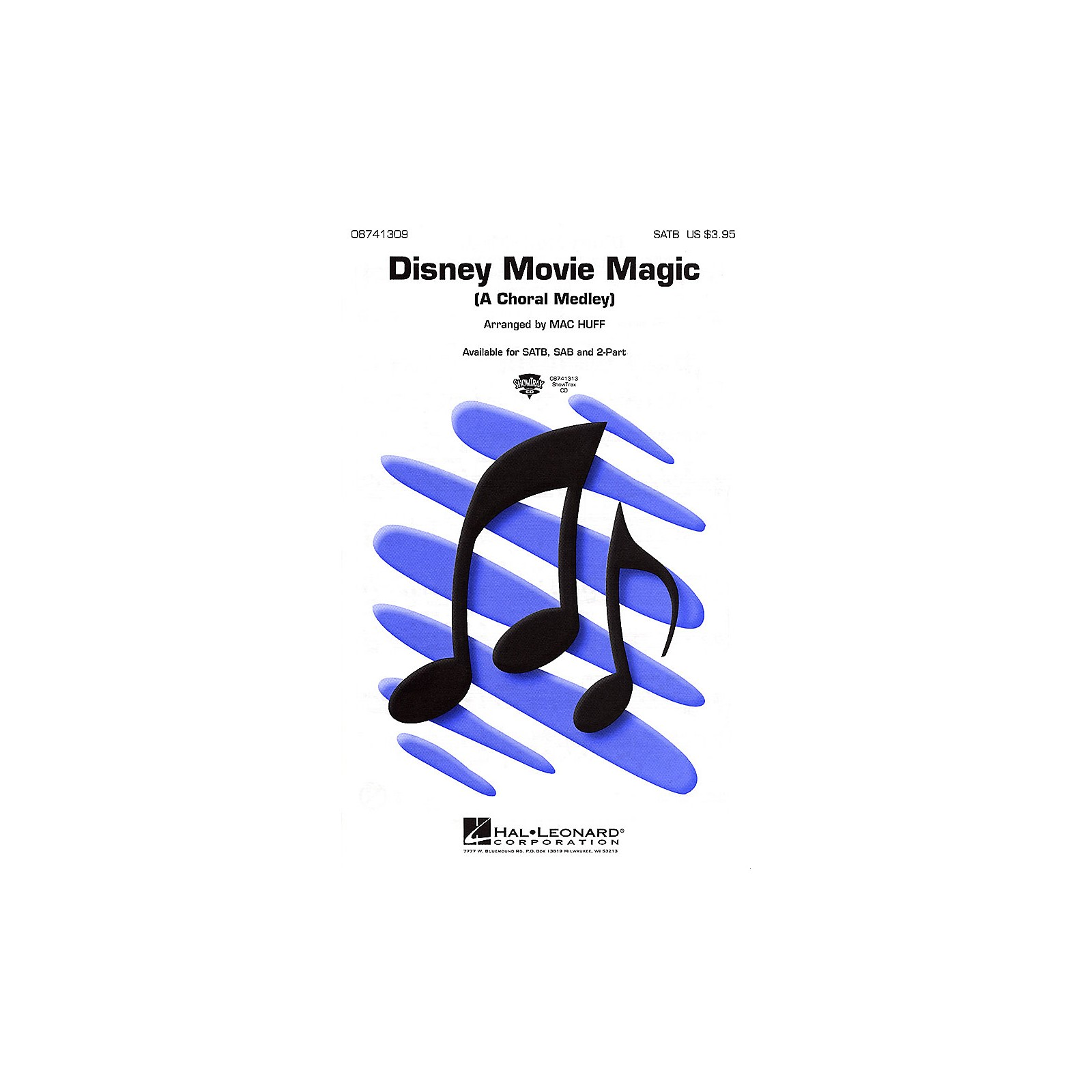 Hal Leonard Disney Movie Magic (Medley) SATB arranged by Mac Huff