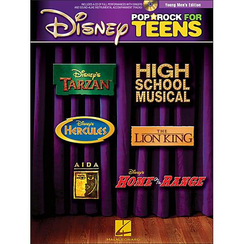 Hal Leonard Disney Pop / Rock for Teens - Young Men's Edition Book/CD