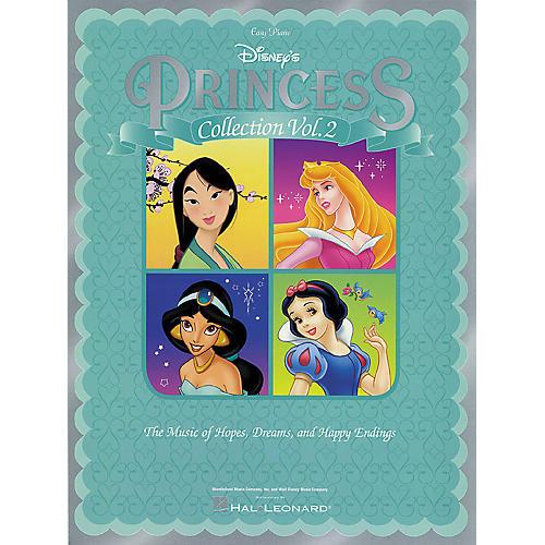 Hal Leonard Disney Princess Collection Vol 2 For Easy Piano