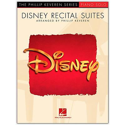 Hal Leonard Disney Recital Suites for Piano Solo (Phillip Keveren Series)