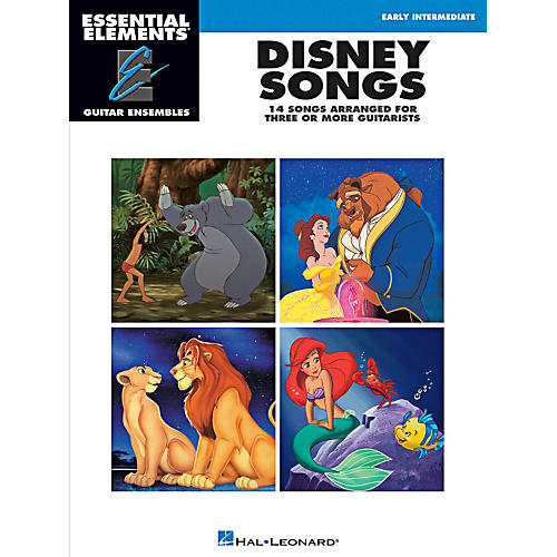 Hal Leonard Disney Songs - Essential Elements Guitar Ensembles Early Intermediate Level