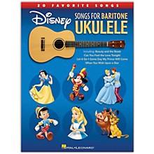 Hal Leonard Disney Songs for Baritone Ukulele - 20 Favorite Songs